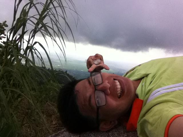 lần đâu tôi leo núi 1 mình